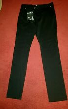 $450.00 Versace Versus Men's Black Pleated Leg Trousers Size 30 IT 46