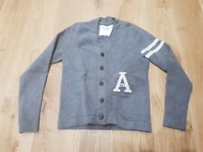 Abercrombie and Fitch Cardigan sweater L grey