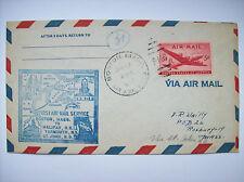 enveloppe first air mail Boston Halifax Yarmouth 1947 USA Canada aviation