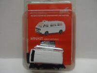 Herpa 012966 VW T3 Bus unbedruckt weiß Mini Kit  Bausatz H0 1:87 Neu
