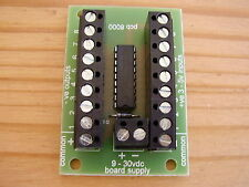 8 way transistor Interface Board for  PIC AVR ARDUINO PI