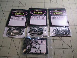 55 DAIICHI 4631 HOOKS  Size 2/0 Jig & Fly Tying Hook