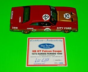 BIANTE FORD XB MOFFAT ATCC #25  87511 Personally signed Cert by Allan Moff