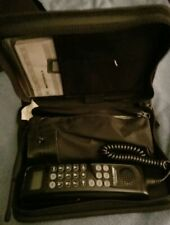 Motorola VINTAGE Cell Phone In Black Case