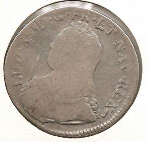 France 1 ecu 0.900 Silver coin 1726 A Ludovic XV KM#486