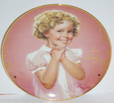 """Precious"""" 1985 Shirley Temple Signature Series by Donald Zolan Collector Plate"
