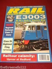 RAIL - E3003 AN AL1 IN ELECTRIC BLUE - JUNE 24 1992 # 177