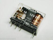 Relais Change Unique 16A 12Vdc Vegha MT16