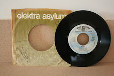 """Eagles the long run/The disco strangler Asylum records E-46569-B 7"""" vinyl"""