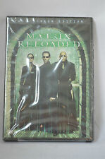 The Matrix Reloaded DVD Full Screen Edition NEW SEALED Keanu Reeves Fishburne RR