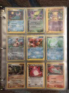 Pokemon Card Vinatge 81 Cards Binder Collection Lot.