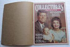 "1983 ""Collectibles Illustrated"" Magazine; Cover: Senator & Mrs. John F. Kennedy"