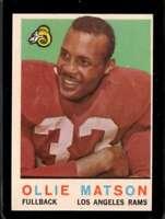 1959 TOPPS #50 OLLIE MATSON EX LA RAMS HOF *SBA1533