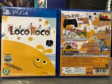 PS4 LOCO ROCO REMASTED ASIA ENGLISH VERSION RARE!