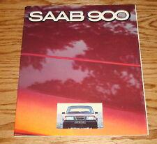 Original 1980 Saab 900 Sales Brochure 80 GLi EMS GLE Turbo
