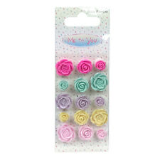Me To You Sweet Shop Resin Roses for cards and crafts