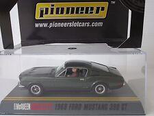 Pioneer, BULLITT'68 FORD MUSTANG GT, Steve McQueen, Slot Car, Scala 1:32, #P001