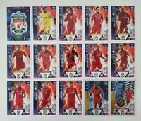Match Attax UEFA Champions Soccer Cards - Liverpool Team Set shiny Mane Keita