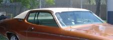 "73 74 Dodge Charger Plymouth Road Runner Satellite ""Halo"" WHITE Vinyl Top/Mopar"