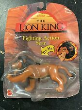 Vintage The Lion King Fighting Action Figure Scar Disney