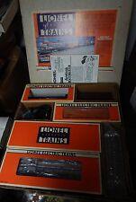 LIONEL 6-11723 AMTRAK WORK TRAIN SET USED IN BOX GREAT SHAPE O SCALE LQQK