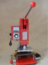 LZ-150 Maunual Hot Foil Stamping Machine LOGO  business card t-shirt 110v/220v
