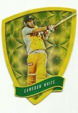 Cricket Australia Select 2009/10 DIE CUT FDC64 CAMERON WHITE TWENTY 20 TEAM CARD