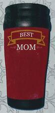 1 Best Mom 14 oz Double Wall Travel Mug Mothers Day Birthday Friend Chauffeur