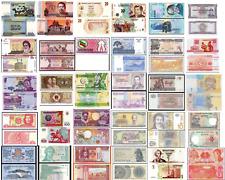 LOT DE 30 BILLETS MONDE UNC  / 30 PAYS DIFFERENTS