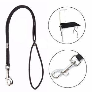 Dog Pet Cat Animal Noose Loop Lock Clip Rope For Grooming Table Arm Bath