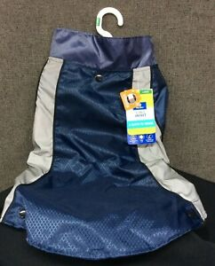 Top Paw 3 in 1 Dog Jacket~ Reflective~ Blue/Gray~ Can Wear It 3 Ways!~ Sz L~ NEW