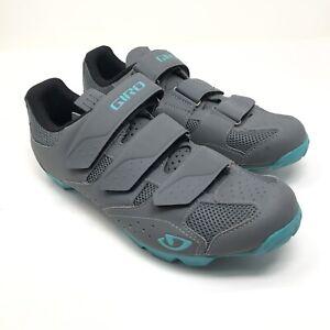 Giro Women's Riela R II Mountain Biking Cycling Shoes Size 10 Gray