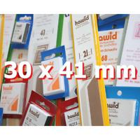 Pochettes Hawid simple soudure 30 x 41 mm pour timbres type Faune et Flore.