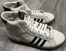 NEW Men's Adidas Originals Basket Profi Shoes FX0350 Chalk White/Black Size:10