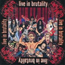"""Undertakers """"Live in Brutality"""" CD [BRUTAL DEATH METAL FROM ITALY, S.O.D. COVER]"""