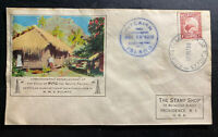 1938 Pitcairn Island New Zealand First Day Cover FDC Voice Of Pitc