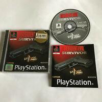 Resident Evil Survivor / Shooter / Complete / Playstation 1 / PS1 PS2/PS3 / PAL