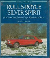 ROLLS ROYCE SILVER SPIRIT CILINDRICI Bentley Mulsanne 8 Design & production libro di storia