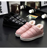 New Womens Winter Warm snow Waterproof Pull On ankle Boots Flat Shoe Booties