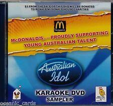 AUSTRALIAN IDOL KARAOKE DVD SAMPLER