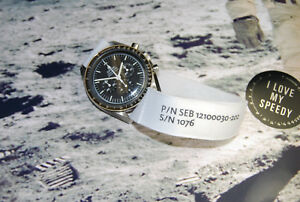 Nasa Strap For OMEGA Speedmaster Moonwatch With Original Velcro Brand