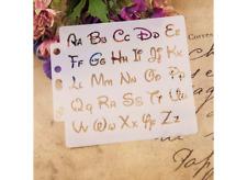 Disney Letters Letter Font Upper Lower Alphabet Plastic Stencil Reusable Mylar