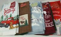 St. Nicholas Square 2 Pack Kitchen Towels Christmas Holiday Choice