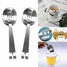 Stainless Steel Teabag Tong Practical Tea Bag Squeezer Holder Grip Kitchen Tool