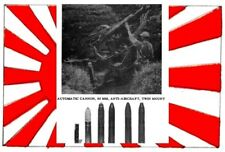 NEW U.S. MANUAL ON JAPANESE GUNS WEAPONS FOR MARINE USE,GRENADE,SHELL,FUZE
