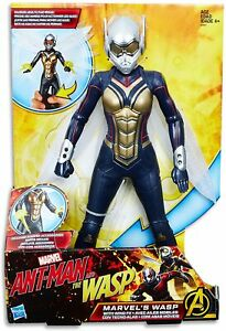 """Marvel Avengers - The Wasp 12"""" Wing FX Action Figure - Ant Man & The Wasp - New"""