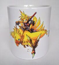 Final Fantasy Cloud Strife Chocobo FF7 ffvii  - Coffee MUG CUP - Gaming - JRPG