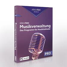 Stecotec Musikverwaltung Pro: Verwalten Sie Ihre CD- und Schallplatten-Sammlung