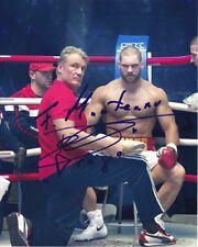 FLORIAN MUNTEANU & DOLPH LUNDGREN signed autographed CREED II photo