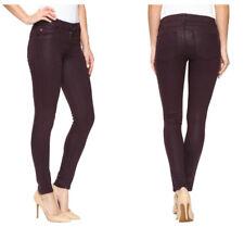 HUDSON Designer NWT Krista Ankle Super Skinny Coated Womens Jeans 26 RRP $280